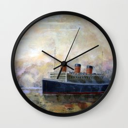 RMS QUEEN MARY Wall Clock