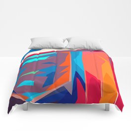 Happiness Reflections Comforters
