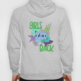 Girls fight back - zombie palette Hoody