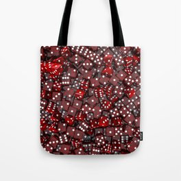 Red dice Tote Bag