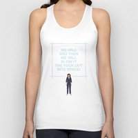 ripley Tank Tops featuring Alien - Ellen Ripley Quote by V.L4B