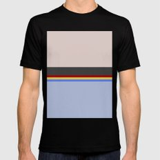 Wesley Crush er - Minimalist Star Trek TNG The Next Generation - 1701 D - startrek - Trektangles Mens Fitted Tee Black MEDIUM