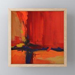Free Mind - Square version - by Elise Palmigiani Framed Mini Art Print