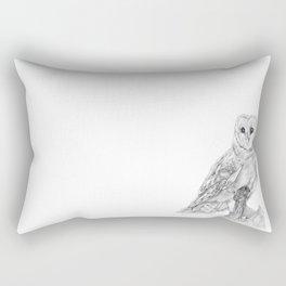 The Barn Owl Rectangular Pillow