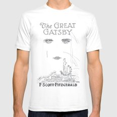 The Great Gatsby Mens Fitted Tee X-LARGE White