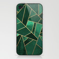 Emerald and Copper iPhone & iPod Skin