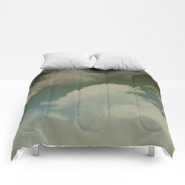 Sky Island Storms Comforters