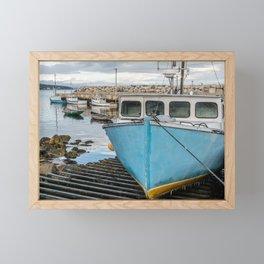 Safe in the Harbour Framed Mini Art Print