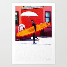 Oceanside Art Print