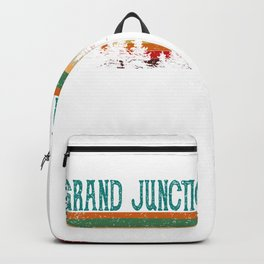 Grand Junction Colorado Retro Vintage Custom Funny Backpack