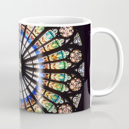 Stained glass cathedral rosette Coffee Mug