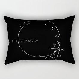 this is my design Rectangular Pillow