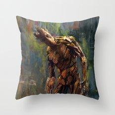 I am Groot! Throw Pillow