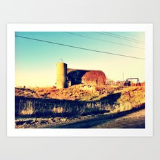 Barn of Ages Art Print