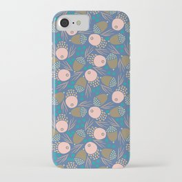 November Born - acorn pattern iPhone Case