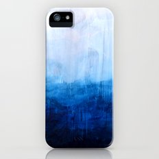 All good things are wild and free - Ocean Ombre Painting iPhone (5, 5s) Slim Case