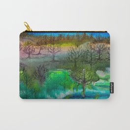 A Walk with Trees Carry-All Pouch