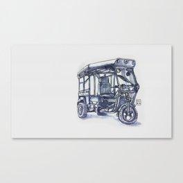 vietnam 3 wheelers Canvas Print