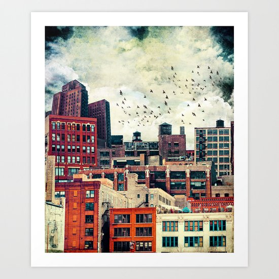 The Rooftop #6 Art Print