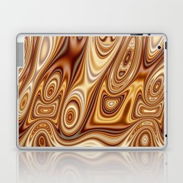 Fordite Caramel Nafta 25 Laptop & iPad Skin