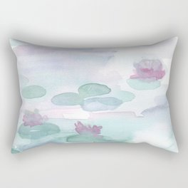 Monet Lily pads Rectangular Pillow