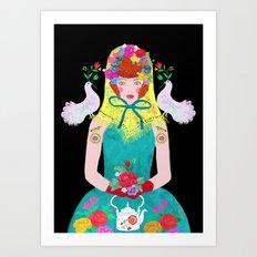 young baboushka Art Print