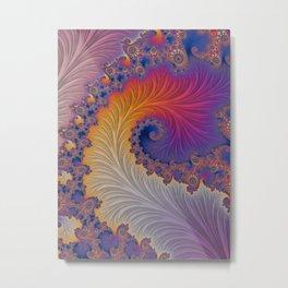 Flamboyant - Fractal Art  Metal Print