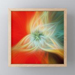Energy Blossom Framed Mini Art Print