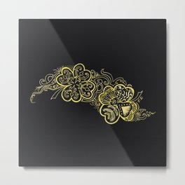 Four-leaf clover Metal Print