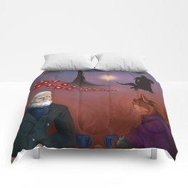 Thinking Around Corners Comforters