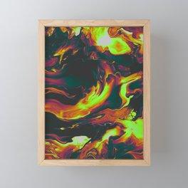 WAITING FOR THE BAD THING Framed Mini Art Print