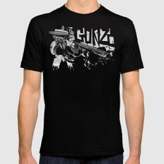 Dr Gonzo Mens Fitted Tee LARGE Black
