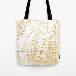 ALBUQUERQUE NEW MEXICO CITY STREET MAP ART Tote Bag