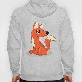 Cute Fox illustration Hoody