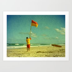 Declaration of Summer Art Print