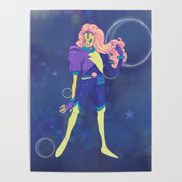 Art: Outer Space Baby Poster