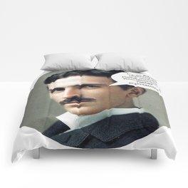 Nikola Tesla Comforters