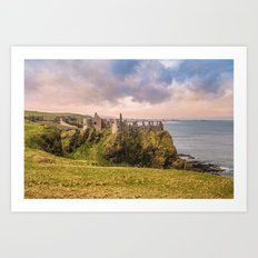 The old castle Art Print