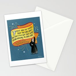 I Dissent: Fight Stationery Cards