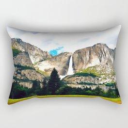 Vernal Mist Rectangular Pillow