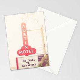 Iconic Austin Motel x Austin Texas Stationery Cards