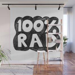 100 % RAD - Bubble Wall Mural