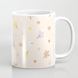 Spring Meadow Flower Pattern Coffee Mug