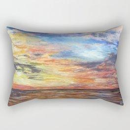 Sunset for Georgia Rectangular Pillow