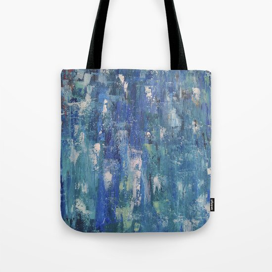 Abstract blue Tote Bag