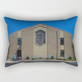 Lourdes University-  Franciscan Center in the Spring VII Rectangular Pillow
