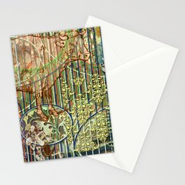 Driving Out Miss Martineau Stationery Cards