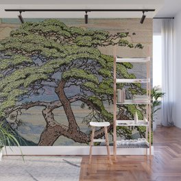 The Downwards Climbing Wall Mural