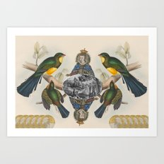 In Her Majesty's Services Art Print