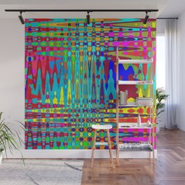 Psychedelic Tribal - Light Wall Mural